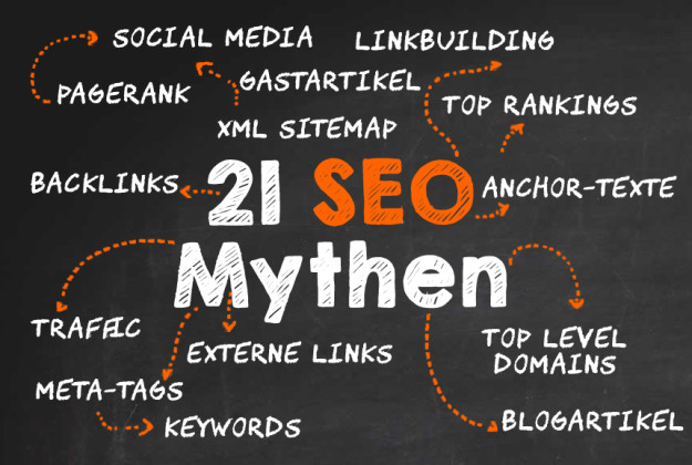 Suchmaschinen Ran king Mythen